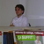 Aurélien Saintoul Education Perpignan